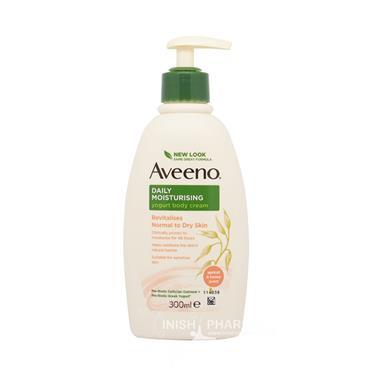 Aveeno Daily Moisturising Yogurt Body Cream Apricot & Honey 300ml Pump