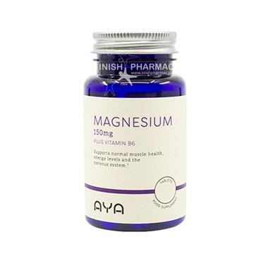 AYA Magnesium 150mg Tablets with B6 30 Pack