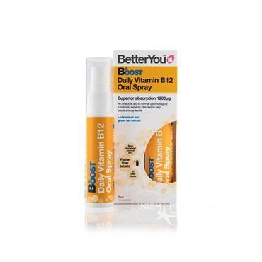 BetterYou Boost Daily Vitamin B12 Oral Spray 25ml