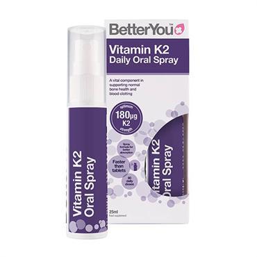 BetterYou Vitamin K2 180mcg Daily Oral Spray 25ml