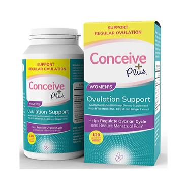 Conceive Plus Women's Ovulation Support 120 Capsules