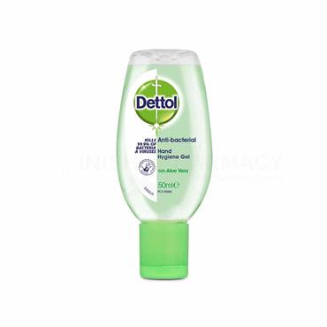 Dettol Antibacterial Aloe Vera Hand Gel 50ml