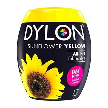 Dylon All In 1 Fabric Dye Pod Sunflower Yellow 350g
