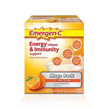 Emergen-C Mega Pack 24 Super Orange