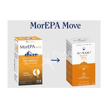 Minami MorEPA Move Plus Curcumin 60 Pack