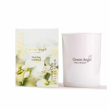 Green Angel Precious Oils Collection Candle Ylang Ylang