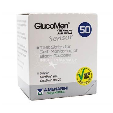 Glucomen Areo Sensor Test Strips 50 Pack