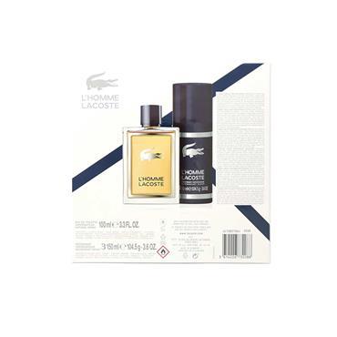 Lacoste L'Homme 2 Piece EDT 100ml & Deodorant Spray 150ml Giftset