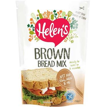 Helens Gluten Free Brown Bread Mix 250g