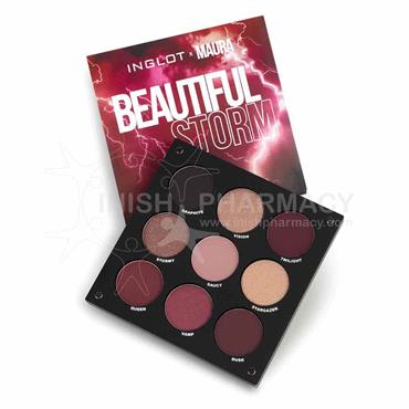 Inglot X Maura Eyeshadow Palette Beautiful Storm