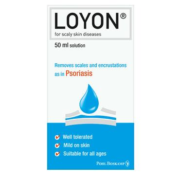 Loyon Cradle Cap  & Psoriasis Solution 50ml