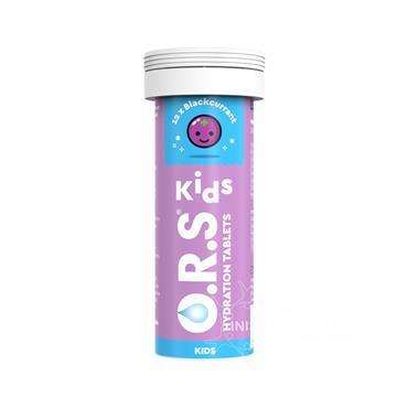 O.R.S. Kids Hydration Tablets - Blackcurrant - 12 tablets