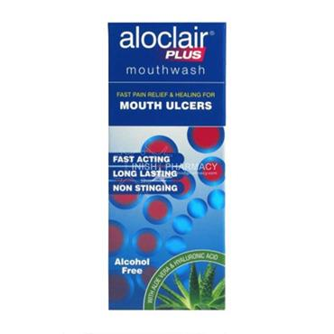Aloclair Plus Mouthwash for Mouth Ulcers