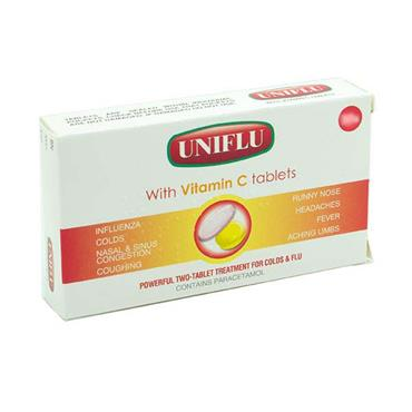 Uniflu With Vitamin C Tablets