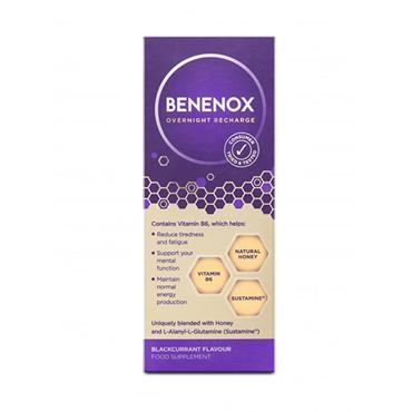 Benenox Overnight Recharge 135ml