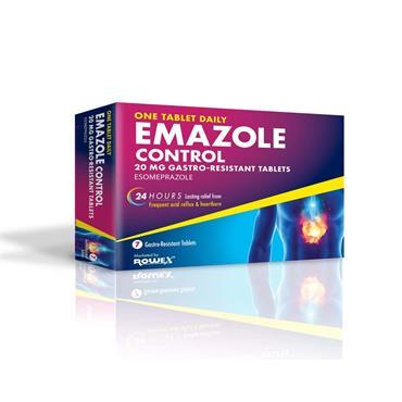 Emazole Control Esomeprazole Tablets