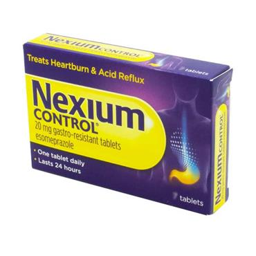 Nexium Control Esomeprazole Tablets