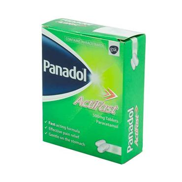Panadol Actifast 500mg Tablets