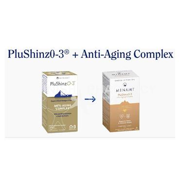 Minami PluShinzO-3 Anti-Aging Complex