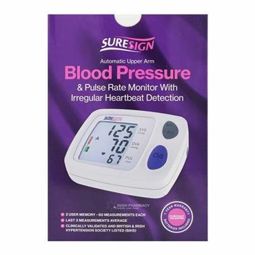 Suresign Blood Pressure & Pulse Monitor
