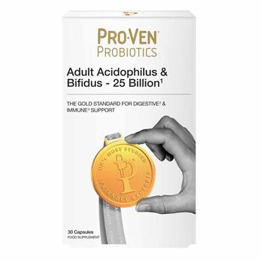 Pro-Ven Probiotics Adult Acidophilus & Bifidus - 25 Billion 30 Capsules