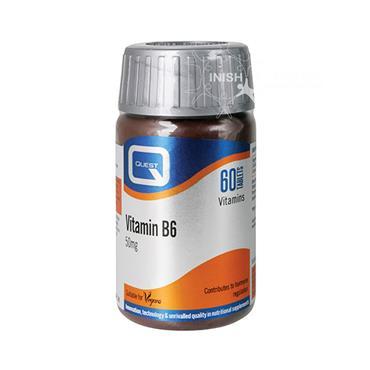 Quest Vitamin B6 50mg 60 Pack