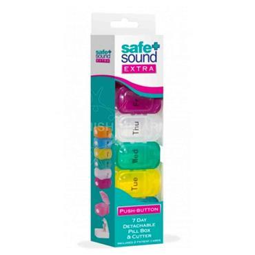 Safe & Sound Extra Pill Box & Cutter