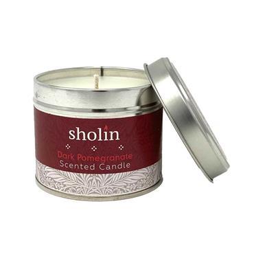 Sholin Scented Candle - Dark Pomegranate