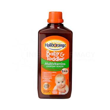 Seven Seas HalibOrange Baby & Toddler Multivitamins 250ml