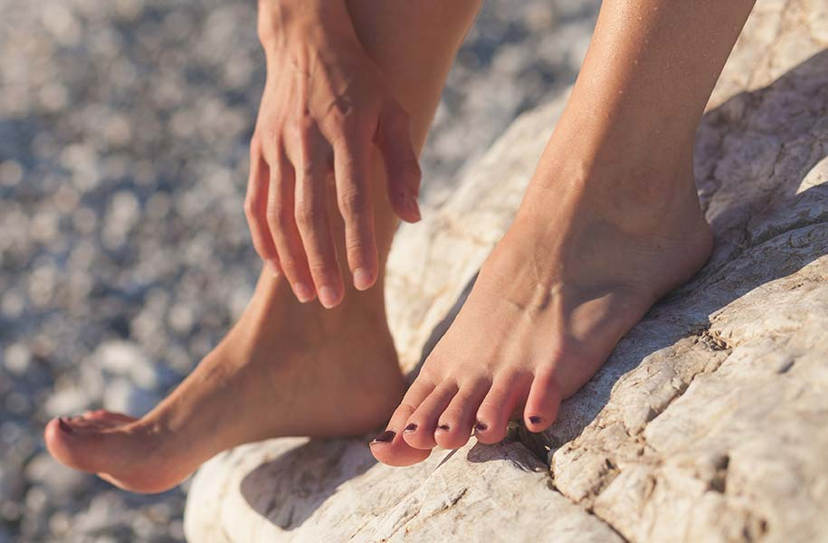 A podiatrist or chiropodist can help you with common foot problems