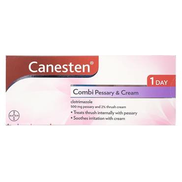 CANESTEN CANESTEN THRUSH COMBI PESSARY & EXTERNAL CREAM