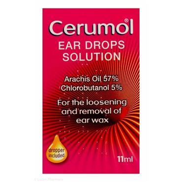 CERUMOL EAR DROPS DUAL ACTION FORMULA 10ML