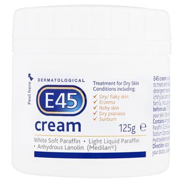 E45 CREAM 125G POT