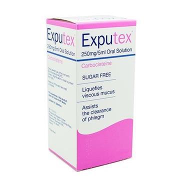 EXPUTEX 250MG/5ML ORAL SOLUTION 300ML