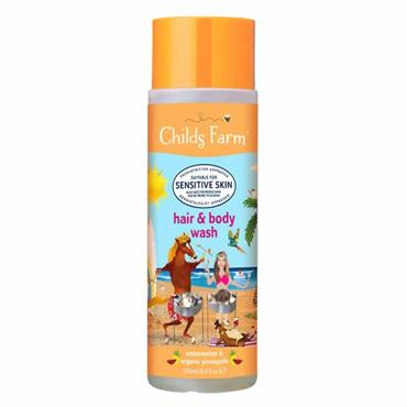 CHILDS FARM HAIR AND BODY WASH WATERMELON AND PINEAPPLE 250ML