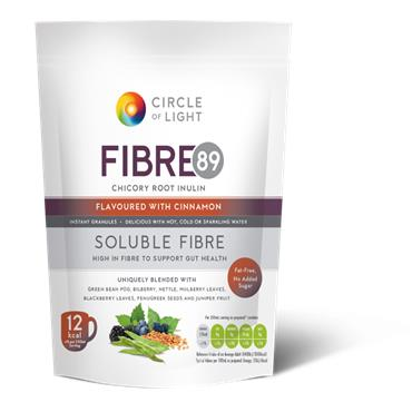 CIRCLE OF LIGHT FIBRE89 SOLUBLE FIBRE FLAVOURED WITH CINNAMON 200G