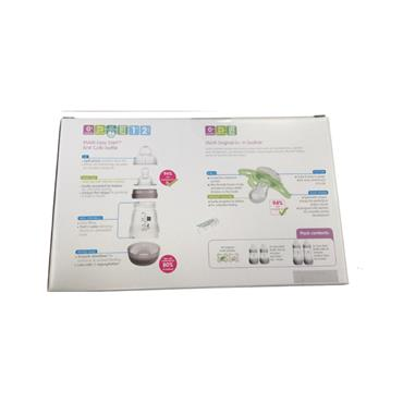MAM FEED & SOOTHE SET SELF STERILISING IN THE MICROWAVE