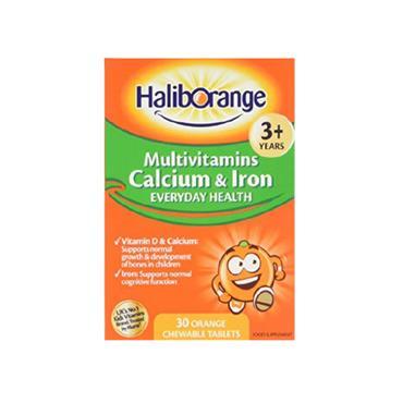 HALIBORANGE HALIBORANGE MULTIVITAMIN WITH CALCIUM & IRON CAPSULES 30 PACK
