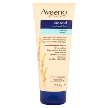 AVEENO AVEENO SKIN RELIEF MENTHOL SOOTHING LOTION 200ML