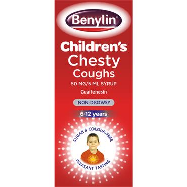 BENYLIN CHILDRENS CHESTY COUGH SYRUP 125ML