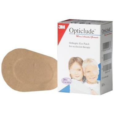 OPTICLUDE EYE PATCHES 8.2CM X