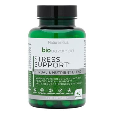 NATURES PLUS NATURES PLUS BIOADVANCED STRESS SUPPORT 60 CAPSULES