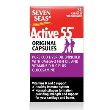 SEVEN SEAS ACTIVE 55 ORIGINAL 30 CAPSULES
