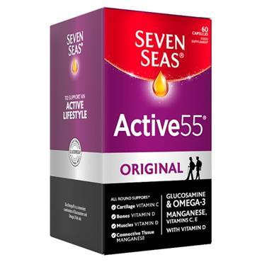 SEVEN SEAS ACTIVE 55 ORIGINAL 60 CAPSULES