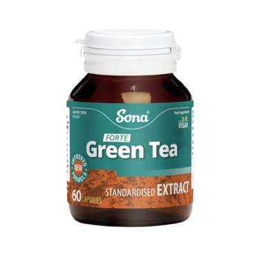 SONA SONA GREEN TEA FORTE 60 CAPSULES