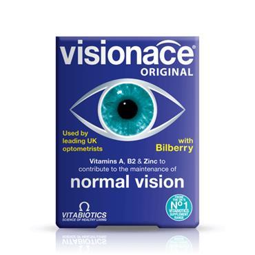 VITABIOTICS VITABIOTICS VISIONACE ORIGINAL WITH BILBERRY 30 TABLETS