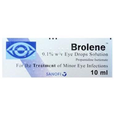 BROLENE EYE DROPS SOLUTION 10ML