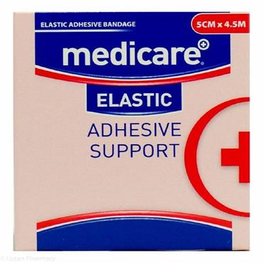 MEDICARE ELASTIC ADHESIVE SUPPORT BANDAGE 5CM X 4.5M