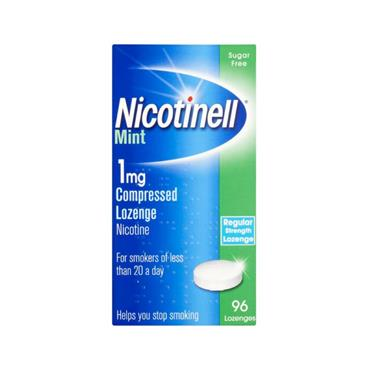 NICOTINELL NICOTINELL MINT 1MG COMPRESSED LOZENGE (96 PACK)