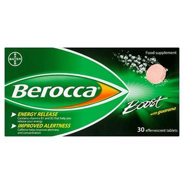 BEROCCA BOOST 30S EFFERVESCENT TABLETS